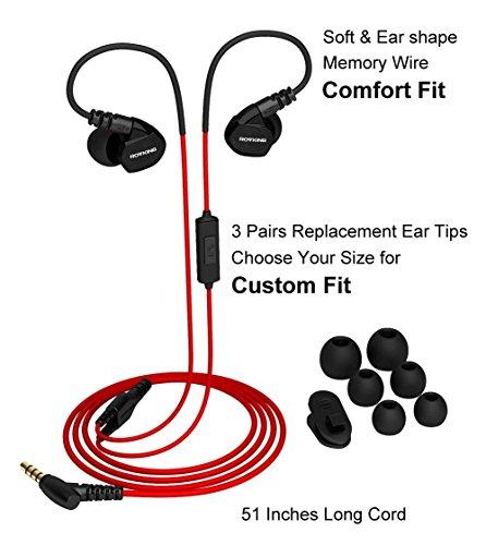 Estéreo In-ear auriculares para LG v10//v20//v30 negro//verde