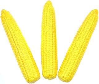 Kansoo Artificial Corn, Lifelike Simulation Fake Vegetable Corn (3 pcs) (Corn)