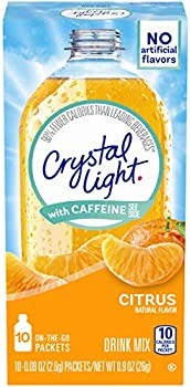10-Count Crystal Light Citrus On-The-Go Powdered Drink Mix