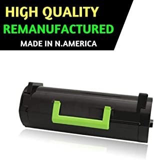 Best Toner Replacement for Lexmark 51B1000 Remanufactured Black Toner Cartridge for MS317dn MS417dn MS517dn MS617dn MX317dn MX417de MX517de MX617de