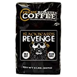 Fresh Roasted Coffee LLC, Blackbeard's Revenge Coffee, Artisan Blend, Medium Roast, Whole Bean, 2 Pound Bag