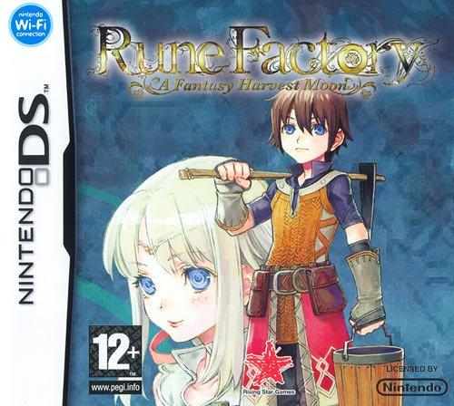 Rune Factory: A Fantasy Harvest Moon [Importación italiana]