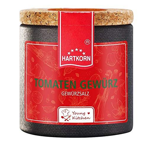 Tomaten Gewürz - 50 g in der Young Kitchen Pappwickeldose mit Korkdeckel von Hartkorn - wiederverschließbar und wiederbefüllbar