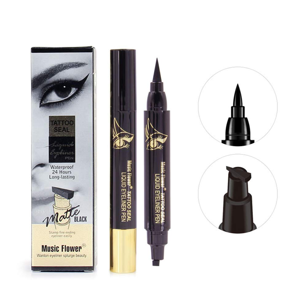 gift Official Eyeliner Seattle Mall Winged Stamp Pen Matte Tattoo Seal Black Water