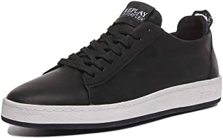 Replay Mens Thorn Soft Leather Sneakers