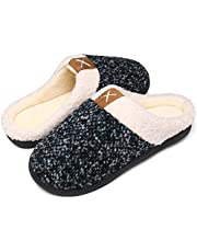 Mishansha Heren Dames Sloffen Memory Foam Warm Slippers,Grootte 36-47 EU