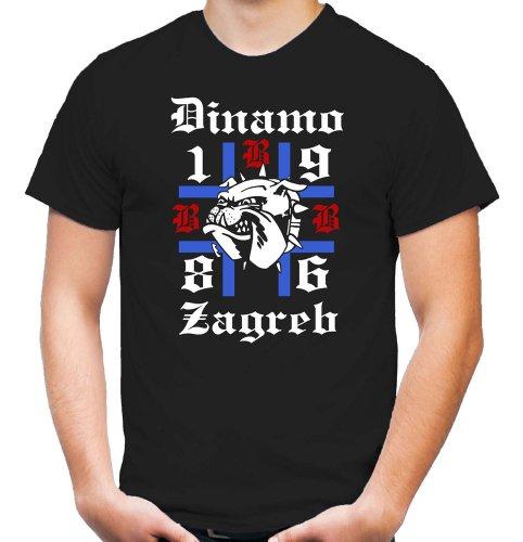 Ultras Zagreb T-Shirt | Fussball | Dinamo | Croatia | Kroatien | ACAB (XXL)