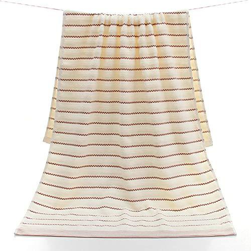 DSJDSFH badhanddoek van hoogwaardig katoen, zacht en dik en absorberend, 70 x 140 cm