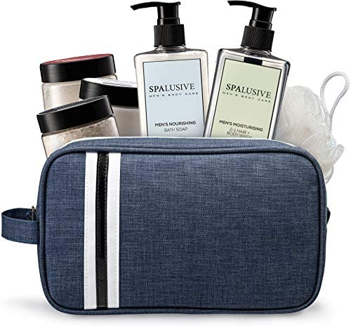 SpaLusive Luxury Spa Gift Set for Men Natural Men s Body Care Bath Essentials product image
