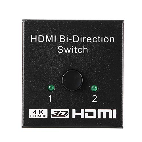 AMONIDA Supporta Una varietà di Formati Video, per Tutti i dispositivi Dotati di Porta HDMI 4K bidirezionale HDMI, Switch HDMI, TV per ricevitori TV Domestici