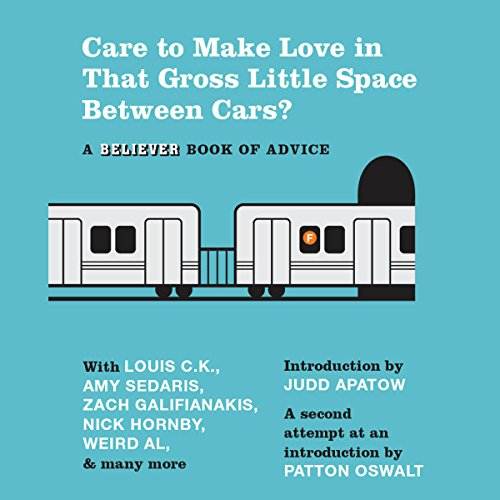 Care to Make Love in That Gross Little Space Between Cars? audiobook cover art