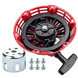 Dxent Recoil Starter for Champion Power Equipment 3000 3500 4000 Watts 196cc 6.5HP Gas Generator 46558 46561 46596 46533 46534 46535 46539 46540 46551 46553 46554 46555 40025 Parts Kit