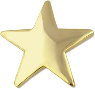 Large Gold Star Lapel Pins Gold Star Chenille Pin Award 1 Pack Prime