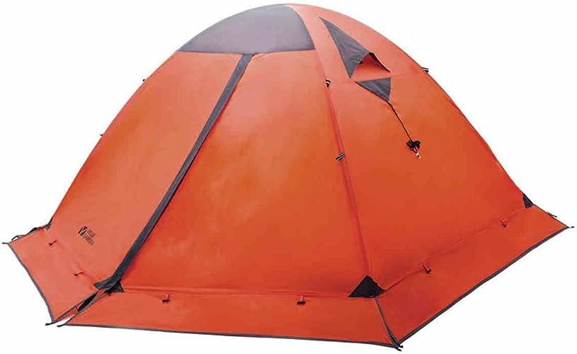 Outdoor équipement tente de camping Décennie saisons couchette double classique de neige alpine tentes