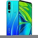 Smartphone 128gb 4gb Ram Pantalla De CaíDa De Agua De 6.1 Pulgadas, CáMara De 13-18Mp, Batería De 4000mAh, TeléFono MóVil con Reconocimiento Facial 64GB Blue