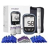 Medidor de glucosa en sangre,kit de prueba de...