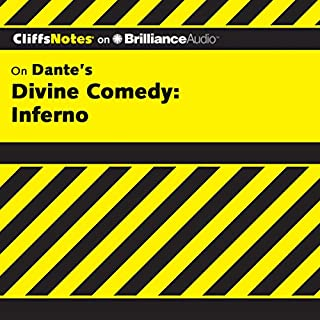 Divine Comedy - Inferno: CliffsNotes                   Written by:                                                                                                                                 James Roberts,                                                                                        Nikki Moustaki                               Narrated by:                                                                                                                                 Kate Rudd                      Length: 4 hrs and 11 mins     Not rated yet     Overall 0.0