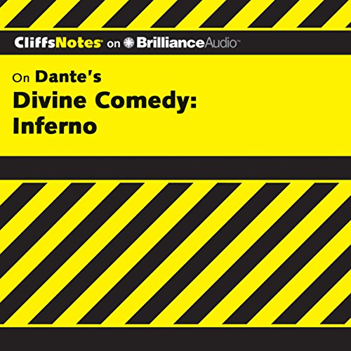 Divine Comedy - Inferno: CliffsNotes audiobook cover art