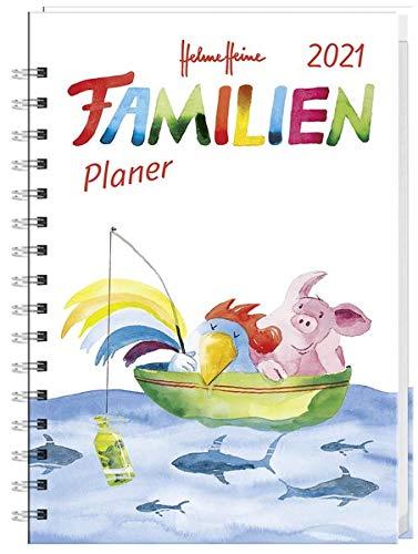 Helme Heine Familienplaner Buch A6 Kalender 2021