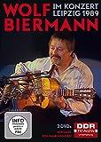 Wolf Biermann - Im Konzert - Wolf Biermann in Leipzig 1989 [2 DVDs]