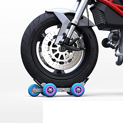 GYQCP Remolques De Motocicleta, Autorrescatador para Pinchazo De Neumático De Motocicleta Carro De Motocicleta Coche En Movimiento Elevador De Movimiento Tractor De Neumáticos