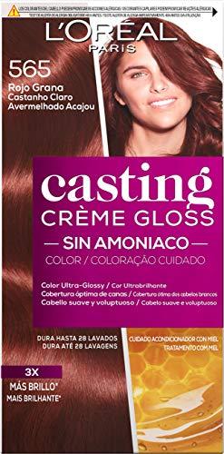 L'Oreal Paris Casting Crème Gloss Coloración Sin Amoniaco Casting Créme Gloss 565 Rojo G