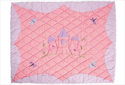 Win Vert Petit Château de princesse de sol Couette, Rose pâle, SPCFC - Version Anglaise