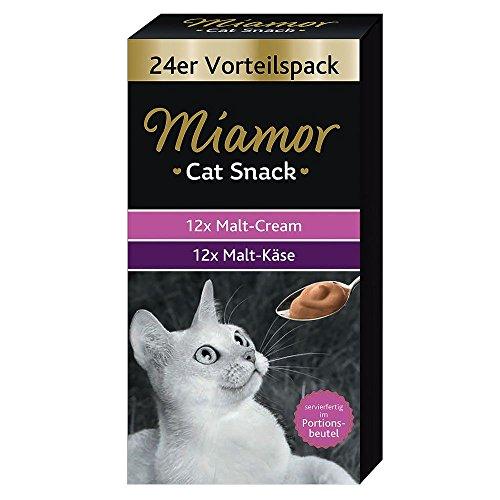 Miamor Cat Snack Malt-Cream Vorteilspack 24x15g