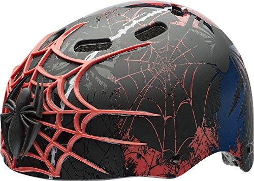 Bell 7059833 Children Spider-Man 3D Web Slinger Multi-Sport Helmet , Child (5-8 yrs.)