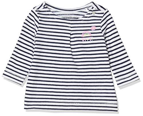 Noppies G LS Casper Y/d Str Vestido, Multicolor (Dress Blue P093), 62 para Bebés