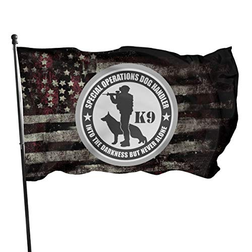 Merry Christmas Flag Police Military K9 Handler Special Operations 3x5 Foot Flag