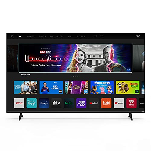 VIZIO 75-Inch V-Series 4K UHD HDR Smart TV with Apple AirPlay 2 and Chromecast Built-in, Dolby Vision, HDMI 2.1, Variable Refresh Rate with AMD FreeSync, and Low Latency Gaming, V756-J03, 2021 Model