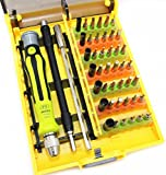 Small Screwdriver Bits Set, Sourcingbay 45 in 1 Precision Screwdriver Kits, Magnetic Screwdriver set with Flexible Shaft for Mobile Phone, PC Parts, Game Console, RC Car