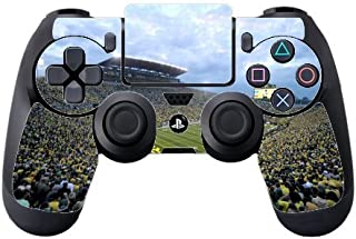 College Football Stadiums Vinyl Decal Sticker Skin by Compass Litho for PS4 DualShock4 Controller