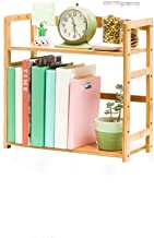 WHPSTZ Children's Bookshelf Square Simple Table Bookshelf Student Mini Desktop Storage Rack Bookshelf