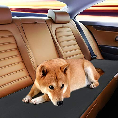 Silicone Car Mat for Pets, Breathable Cushion for Pet Food, External Power Supply for Towing Car