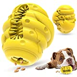 Hoenu Dog Chew Toys, Durable Rubber Bear Paw Dog Chewers Toys, Dog Treat Balls, Puppy Bite Resistant Puzzle Interactive Dog Toothbrush with Milk Flavor