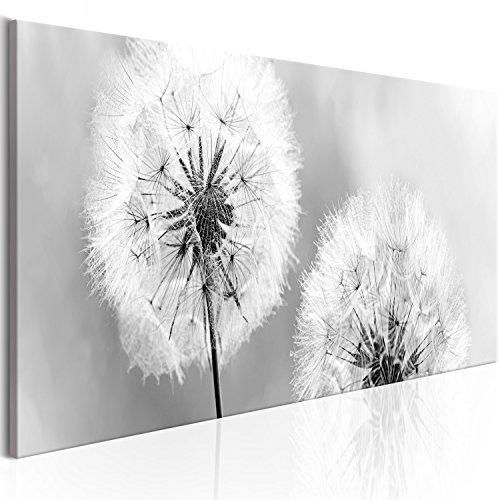 murando - Bilder Pusteblume 135x45 cm Vlies Leinwandbild 1 TLG Kunstdruck modern Wandbilder XXL Wanddekoration Design Wand Bild - Blumen Natur grau Pusteblumen b-B-0223-b-b