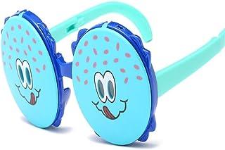 Weichunya - Weichunya - Gafas de sol polarizadas de silicona ultra suave para niños (color: azul)