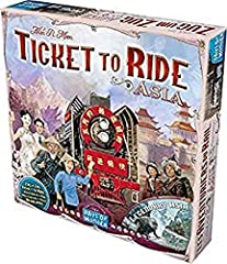 This is an expansion to Ticket to Ride, not a standalone game Includes 6 wooden cardholders, plus an additional 45 plastic trains ( 9 each of each of the 5 standard colors) both of which are used for team play Adds depth and complexity to the base ga...