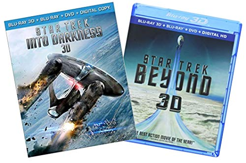 Star Trek: Into Darkness 3D / Star Trek: Beyond 3D (Blu-ray 3D / Blu-ray / DVD) (Blu-ray)