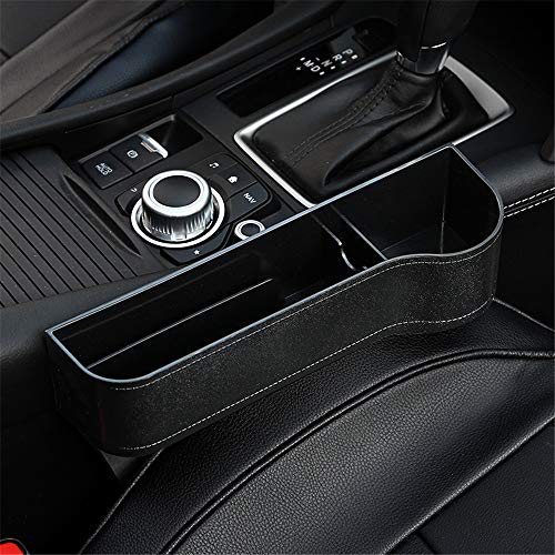 Car Seat Gap Organizer, Multifunctional with Cup Holder, Storage Box, NOT FIT Central Console Lower Than The Seat