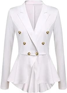 NAWONGSKY Women's Casual Blazer Jacket Suit