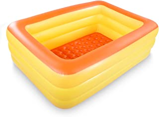 HIWENA Inflatable Family Swim Center Pool, 83