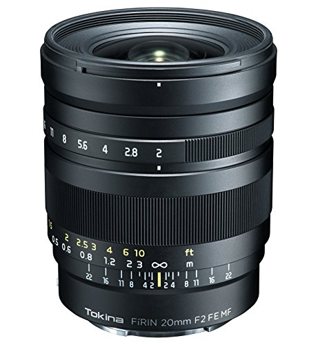 Tokina 20 mm/F 2.0 MF FE FIRIN Objektiv (Sony E-Mount-Anschluss)