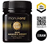 Manukora UMF 20+/MGO 830+ Raw Mānuka Honey (250g/8.8oz) Authentic...