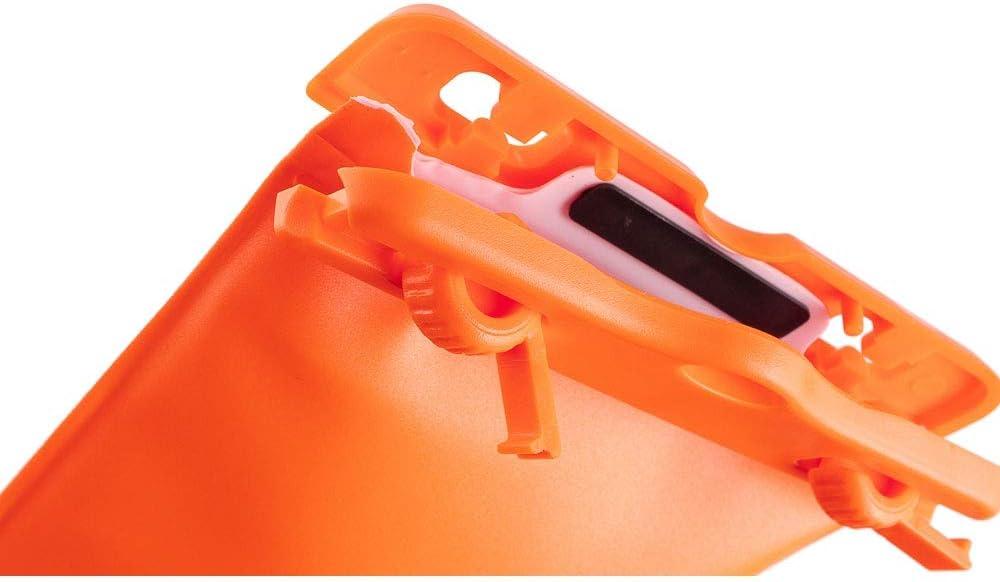 H2O Cell Phone Dry Bag, Orange, 6.5