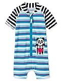 Schiesser Baby-Mädchen Aqua Surfanzug Badeanzug, Mehrfarbig (Multicolor 1 904), 74 (Herstellergröße: 413)