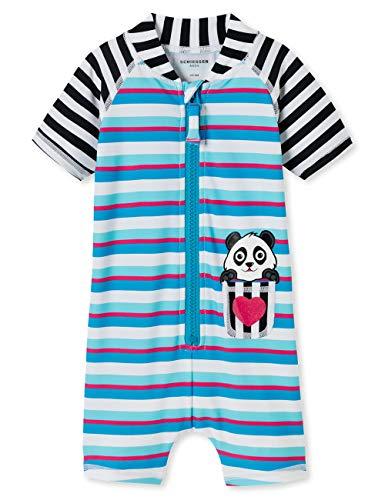 Schiesser Baby-Mädchen Aqua Surfanzug Badeanzug, Mehrfarbig (Multicolor 1 904), 86 (Herstellergröße: 414)