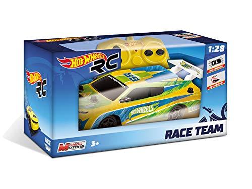 Mondo Motors- Hot Wheels Race Team 15cm Voiture de Course Radiocommandée-Jouet Enfant-3 Ans et Plus, 63253, 6 modèles Disponibles